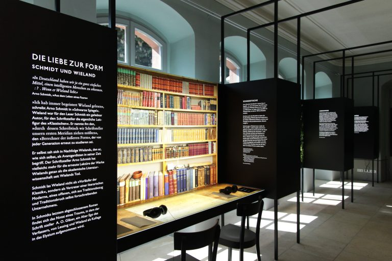 Wieland, Goethe, Schmidt: Eine Kabinettausstellung