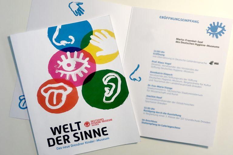»Welt der Sinne« eröffnet am 23. März 2018 im Kindermuseum in Dresden