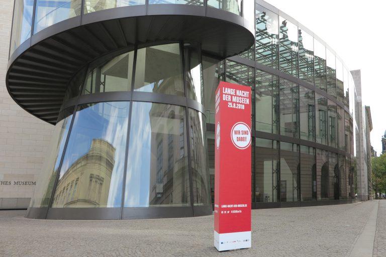 molitor entwickelt Präsentationssystem für Lange Nacht der Museen Berlin 2018