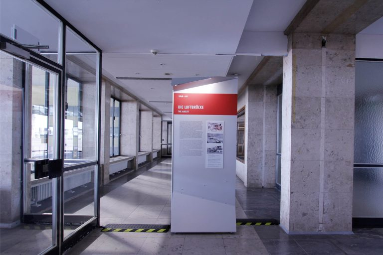 "Exhibition opening of ""A broad field. Tempelhof Airport and its history"" on 4 September 2018"