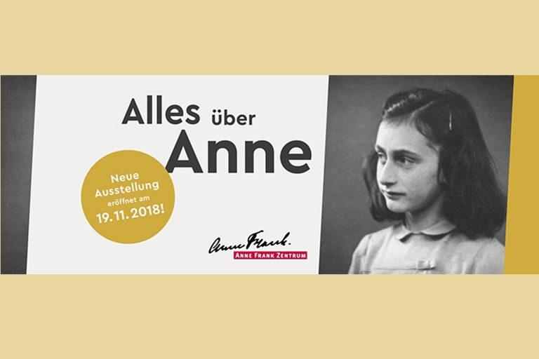 Ausstellungseröffnung im Anne Frank Zentrum  am 19.11.2018