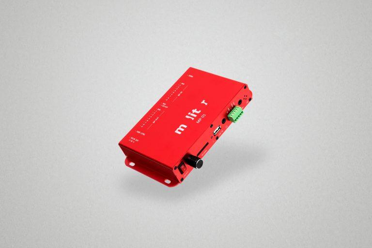Jetzt Neu: MP 01 – Mediaplayer mit hoher Konnektivität