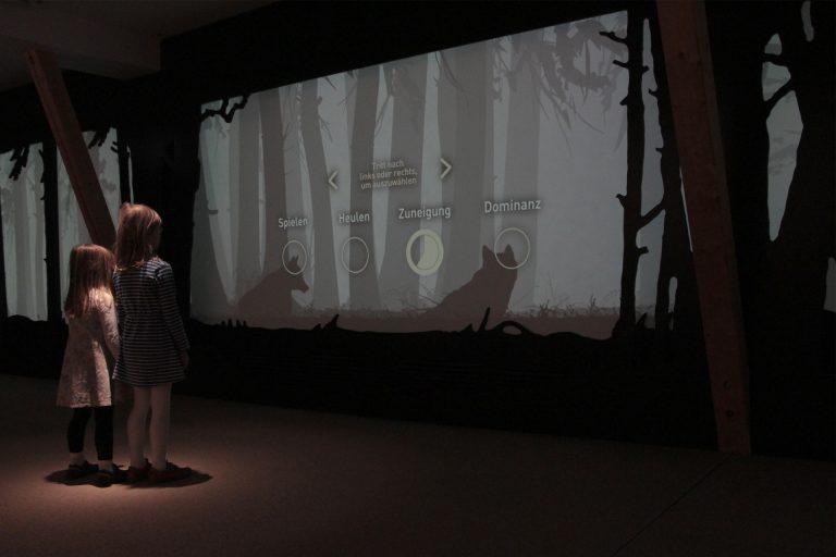 Eröffnung des Wolfsinformationszentrums im Wildpark Schorfheide 06.12.2018