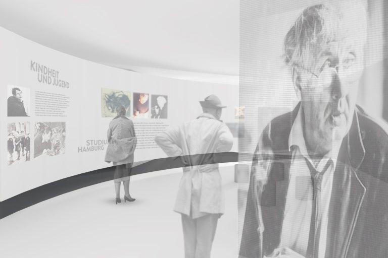 Neukonzeption der Dauerausstellung. molitor gewinnt Wettbewerb im Horst-Janssen-Museum-Oldenburg.