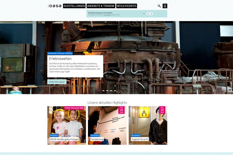 molitor erhält den Zuschlag zur Neugestaltung der Dauerausstellung der DASA in Dortmund