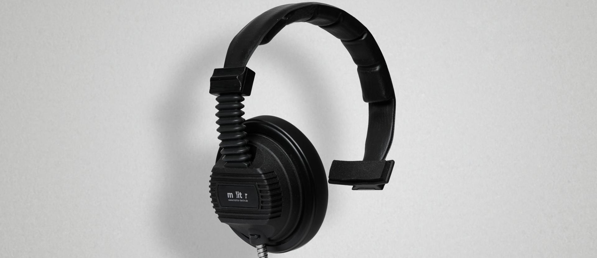 Einseiteiger Kopfhörer