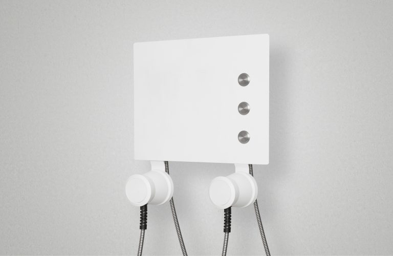AIO All-in-one-Audiostation mit 3 Tastern