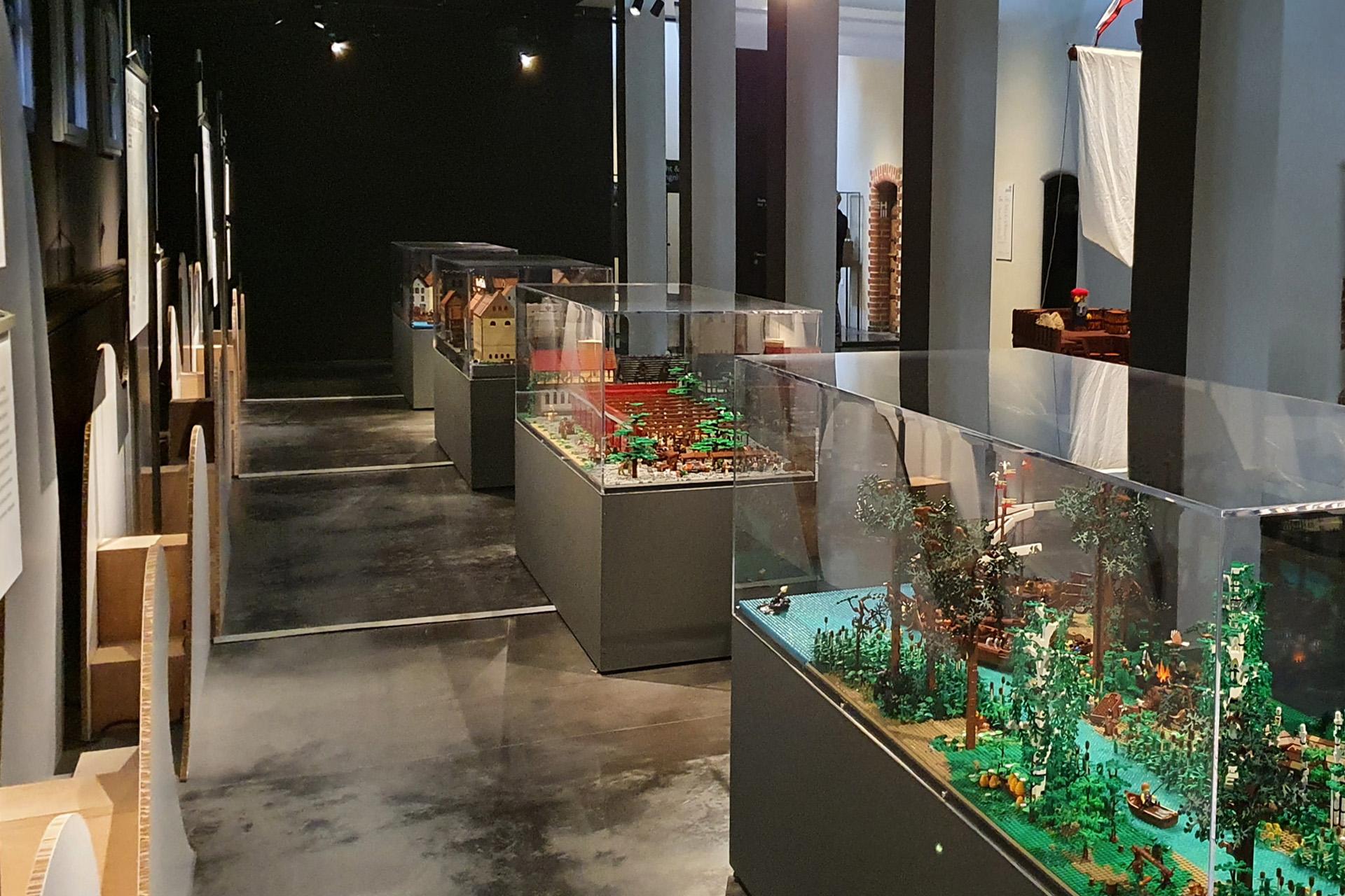 Eröffnung der Sonderausstellung »Hanse steinreich. Eine LEGO Zeitreise« am 28.05.21 im Europäischen Hansemuseum in Lübeck