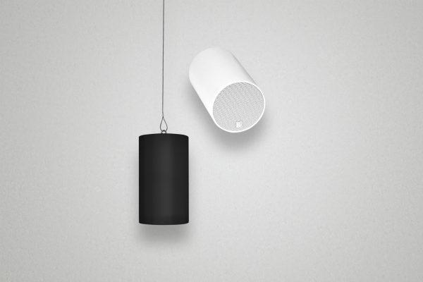 Kleiner Zylinder-Lautsprecher für allgemeine Beschallungsaufgaben