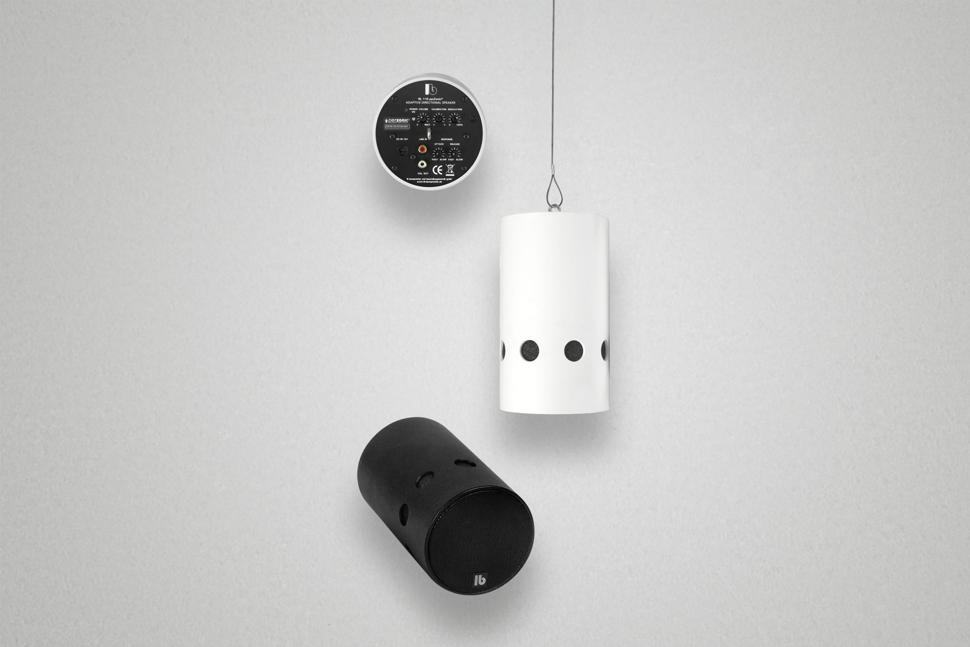 Lautsprecher passt die Wiedergabelautstärke dem Umgebungsgeräusch an