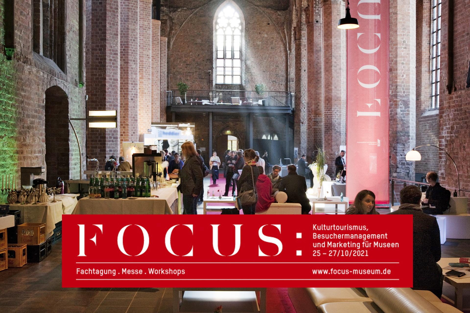 Visit us at the FOCUS in Brandenburg in 2021!